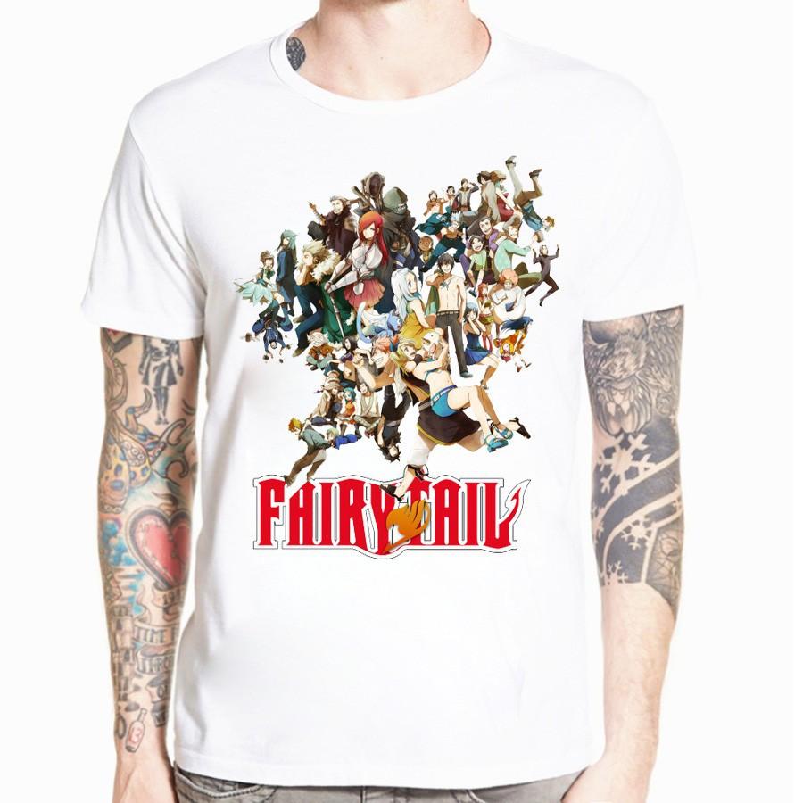 Áo thun Nam Nữ in hình Fairy Tail Natsu - áo thun unisex nam nữ - Giá rẻ