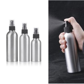 40ml/50ml/100ml/150ml Aluminum Spray Bottle Portable Mini Perfume Bottles Empty Refillable Cosmetic Sprayer Atomizer