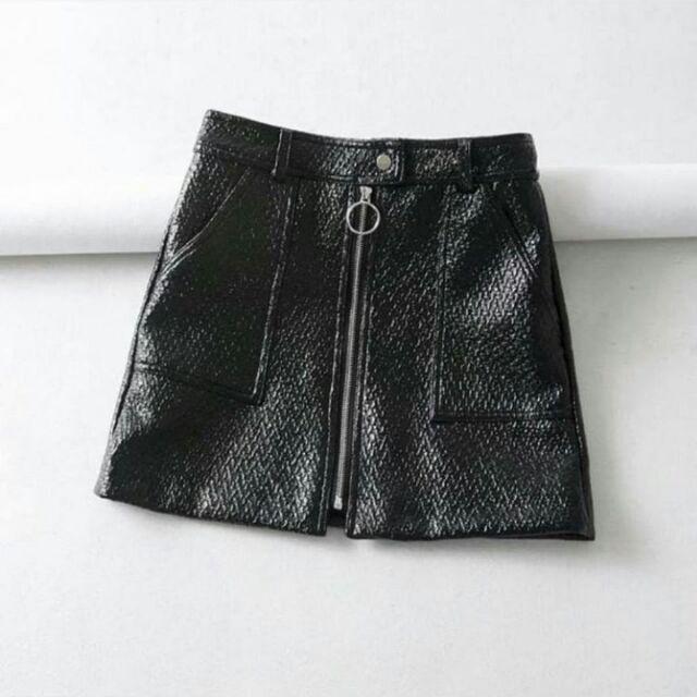 1570267929 - [Trả order] Chân váy da 1