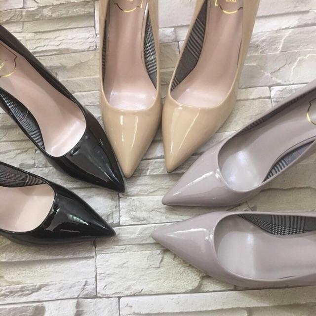 Giày cao gót 7 phân Da mềm