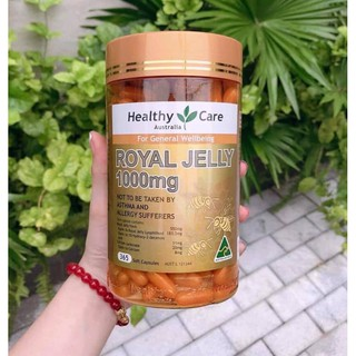 Sữa ong chúa Healthy Care Royal Jelly 1000mg - 365 viên