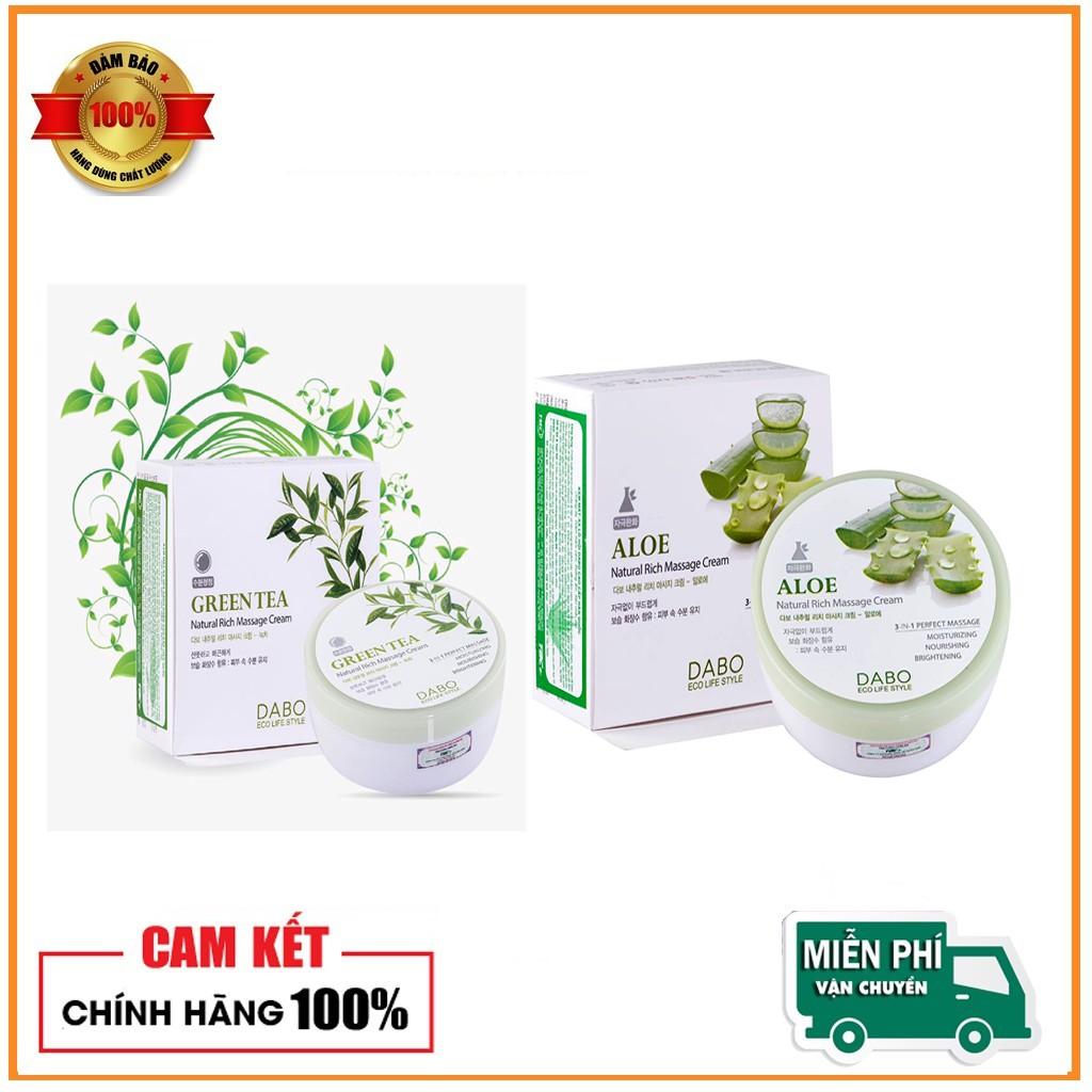 Kem massge trắng da căng cơ Dabo Hàn quốc chiết xuất thảo dược 200ml