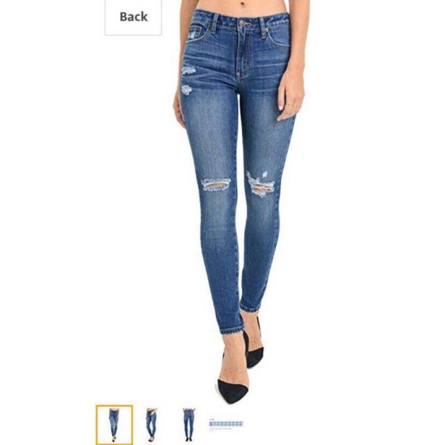 Quần jeans JH 00259 rách gối dư xịn