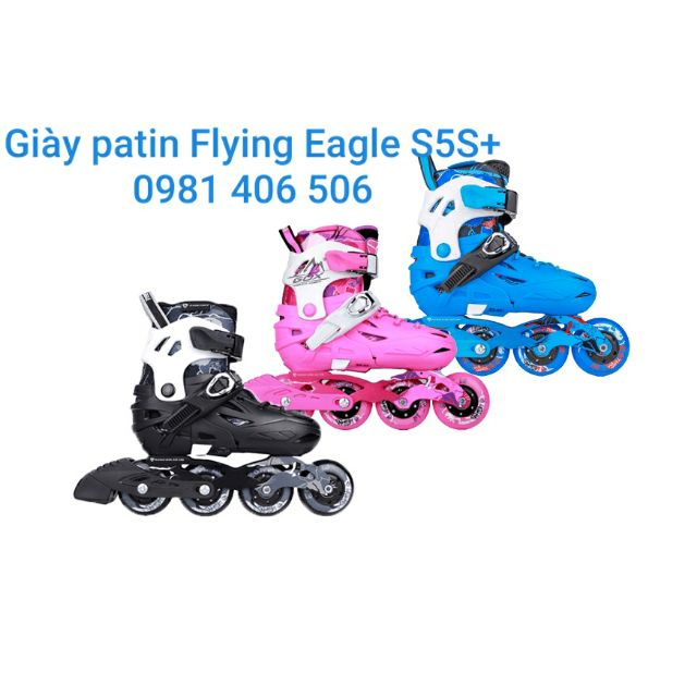 Giày patin Flying Eagle S5S+ , BH trọn đời sp
