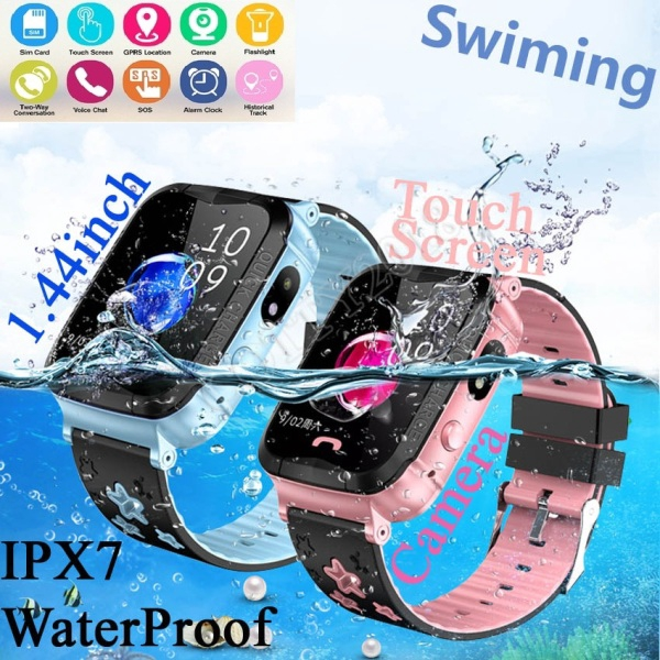 Smart Phone Watch P67 Waterproof Kids GPS Smart Phone Watch for Water Resistant Watch Phone Tracker