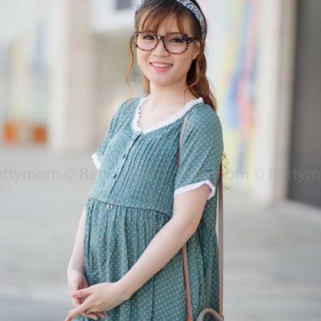 Đầm Bầu hoa nhí