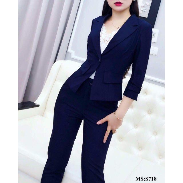 [LOẠI 1] TOPSHOP - Set áo vest + quần thiết kế siêu tôn dáng