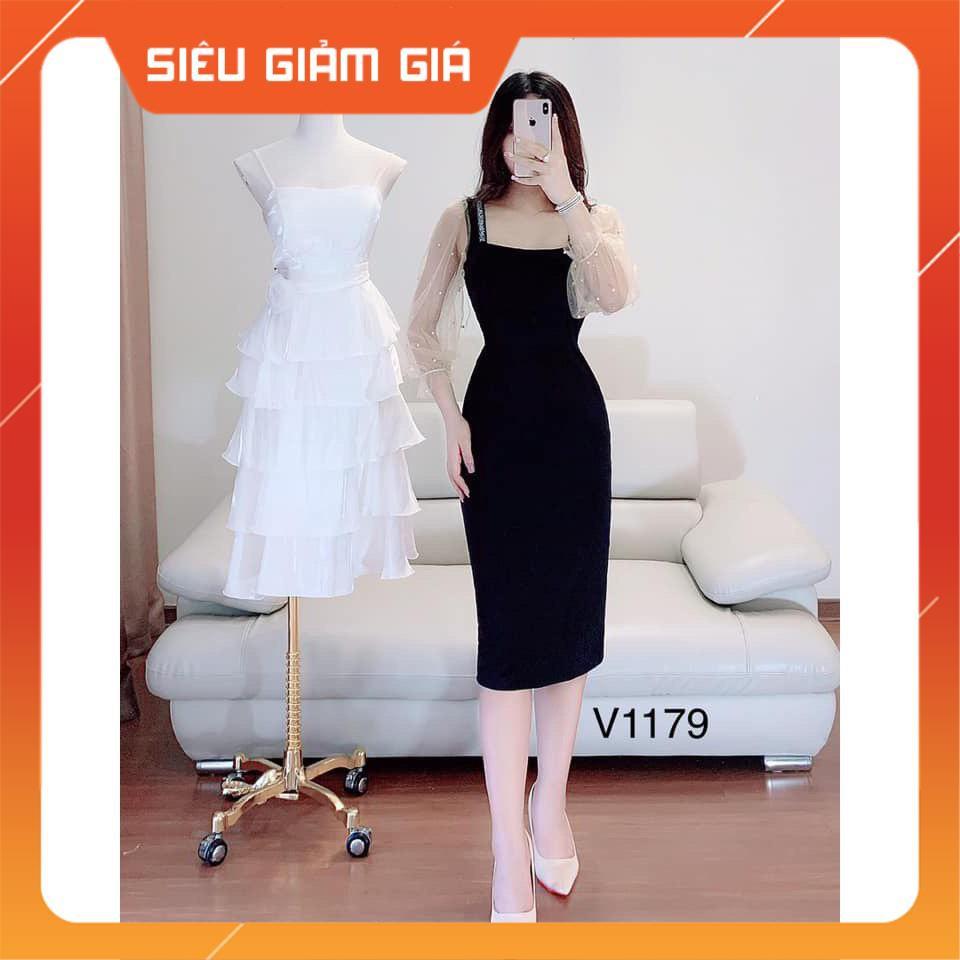 HOT Váy đầm thiết kế dự tiệc V1179 Mie Design kèm ảnh thật NEW