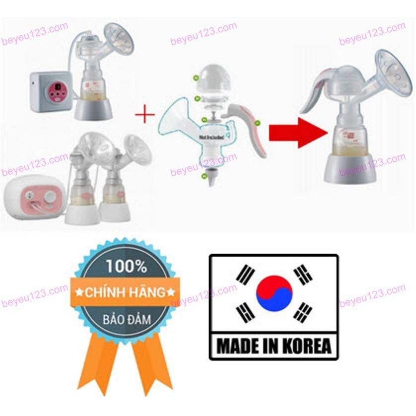 (100% Chính hãng) Bộ phụ kiện chuyển đổi Máy hút sữa điện sang tay UNIMOM (Made in Korea)