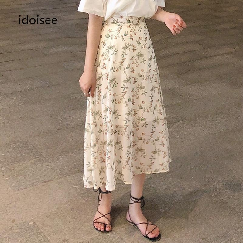 Chân váy midi kiểu đơn giản thời trang cao cấp cho nữ