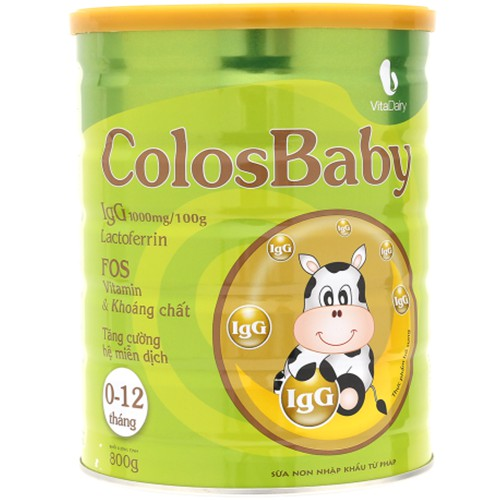 Sữa non ColosBaby (0-12 tháng) 800g