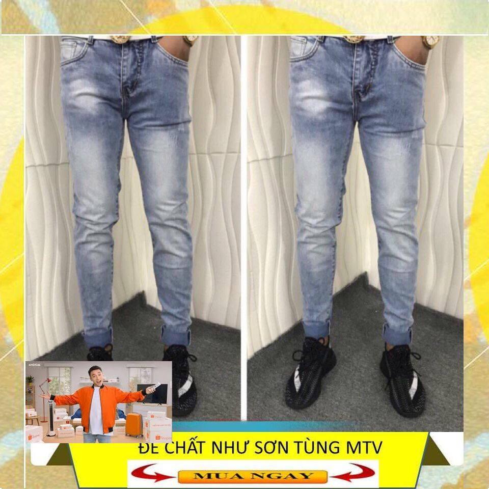 Quần Jean Nam Skinny chính hãng, giá tốt,quần jean nam rách đẹp