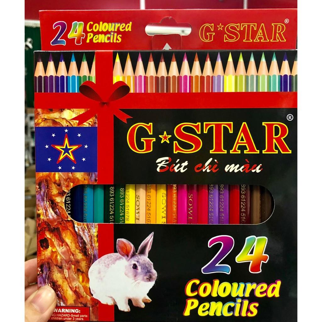 Chì màu 24 màu G-STAR