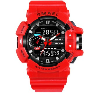Sport Dual-Display Waterproof Dive Watch