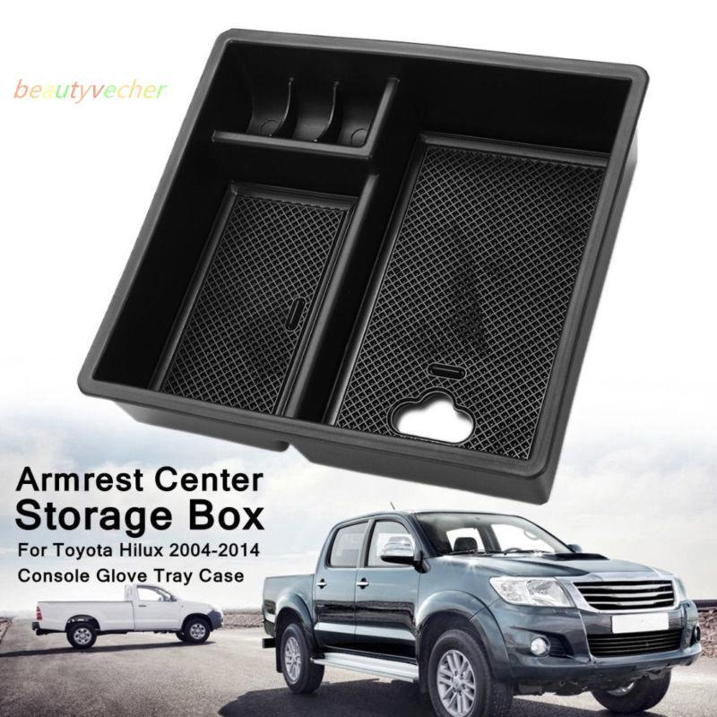 Hình ảnh AU Car Armrest Center Storage Box Console Accessories For Toyota Hilux 2004-2014