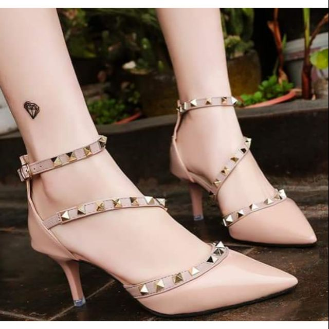 Giày đinh dây chéo - hàng order