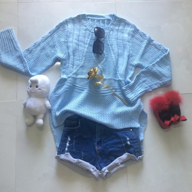 Xã hàng áo thun len quãng châu