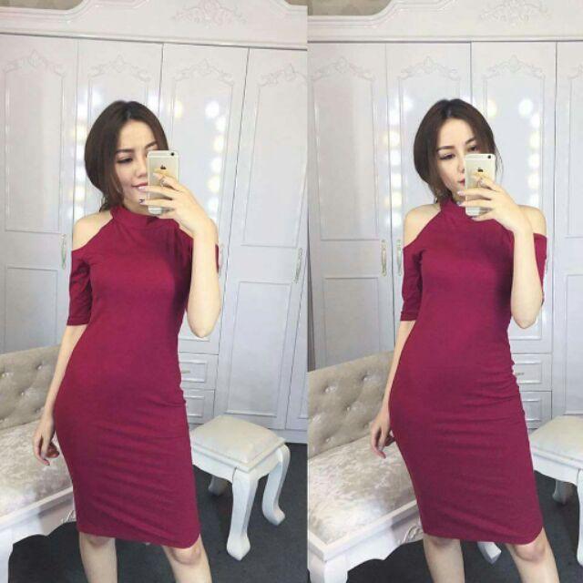 Váy hở vai cực xinh