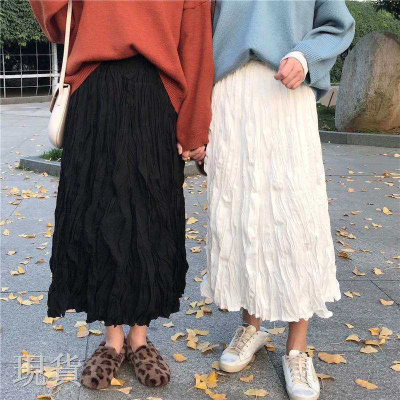Chân Váy Xếp Ly Dáng Rộng Thời Trang Cho Nữ