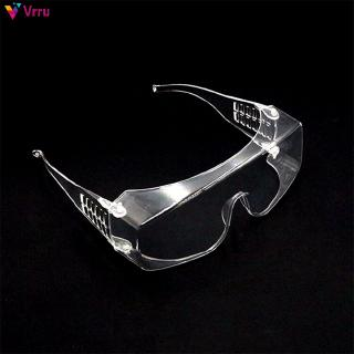 Clear Safety Goggles Work Eye Protection Wear Labour Working Protective Glasses Wind Dust Anti-fog 『Vrru 』