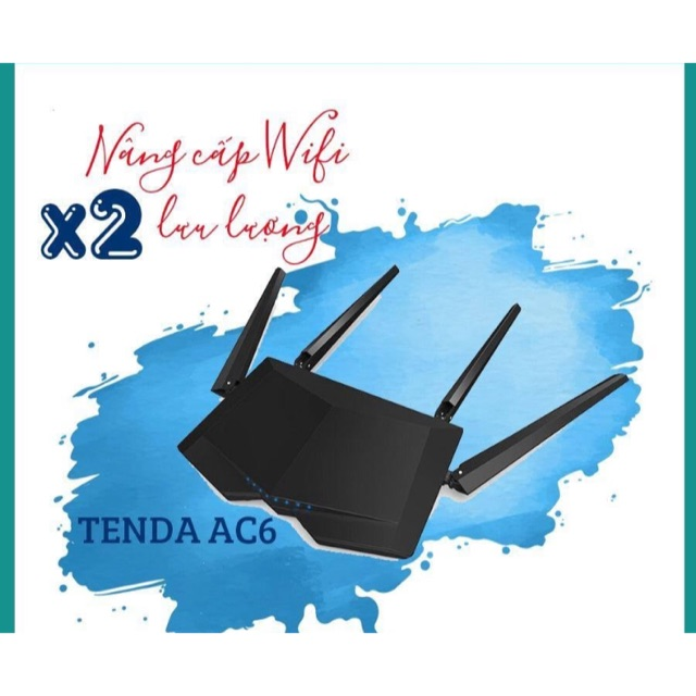Router wifi Tenda AC6