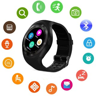 [Mã ELCB1111 giảm 20% đơn 50K] Waterproof Bluetooth Smart Watch Phone Mate For Android IOS iPhone Samsung LG