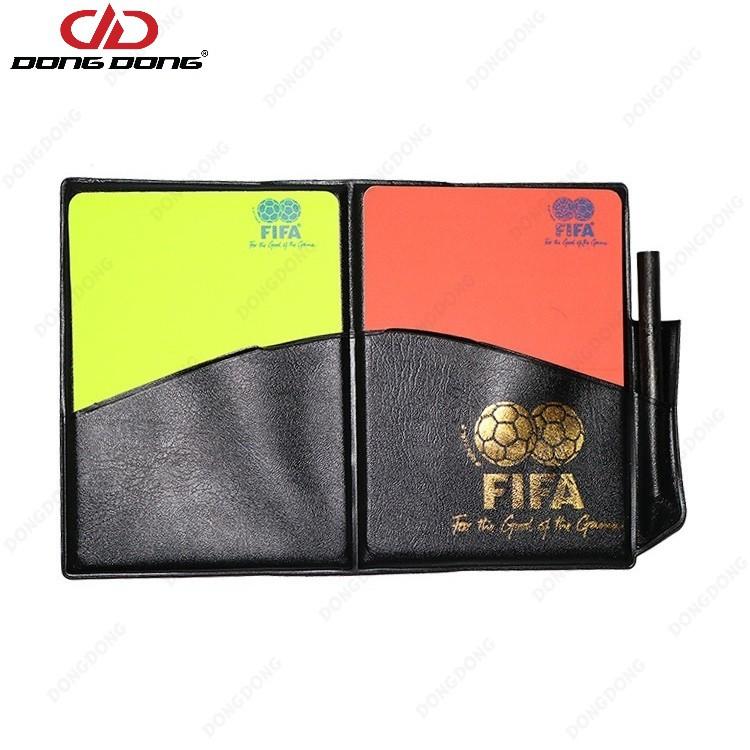 Thẻ trọng tài FIFA, thẻ vàng đò bóng đá - DONGDONG