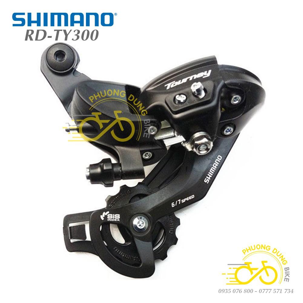 Củ cùi đề sau xe đạp SHIMANO TOURNEY RD-TY300 6-7-8 Speed - Hàng chính Hãng