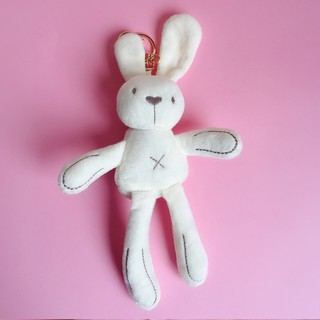KeychainHealing of rabbits to placate key female cute backpack bag accessories decorative doll ins hang act the role