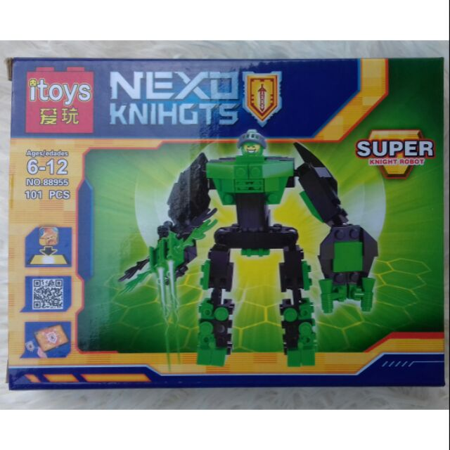 Hộp LEGO SUPER KNIGHT ROBOT