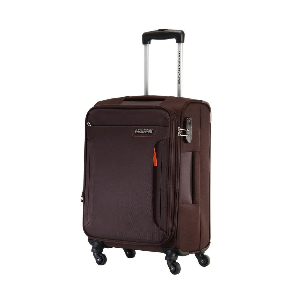 Vali vải American Tourister 32O*13101 Troy TSA - Size 56/20 - Màu Nâu