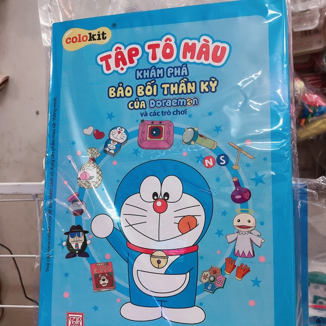 Tập tô màu Doraemon