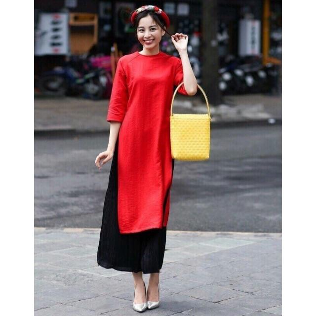 ShiHouse - vnxk - set áo dài cách tân