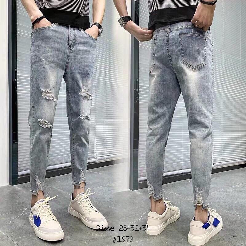quần jean nam mới thời trang