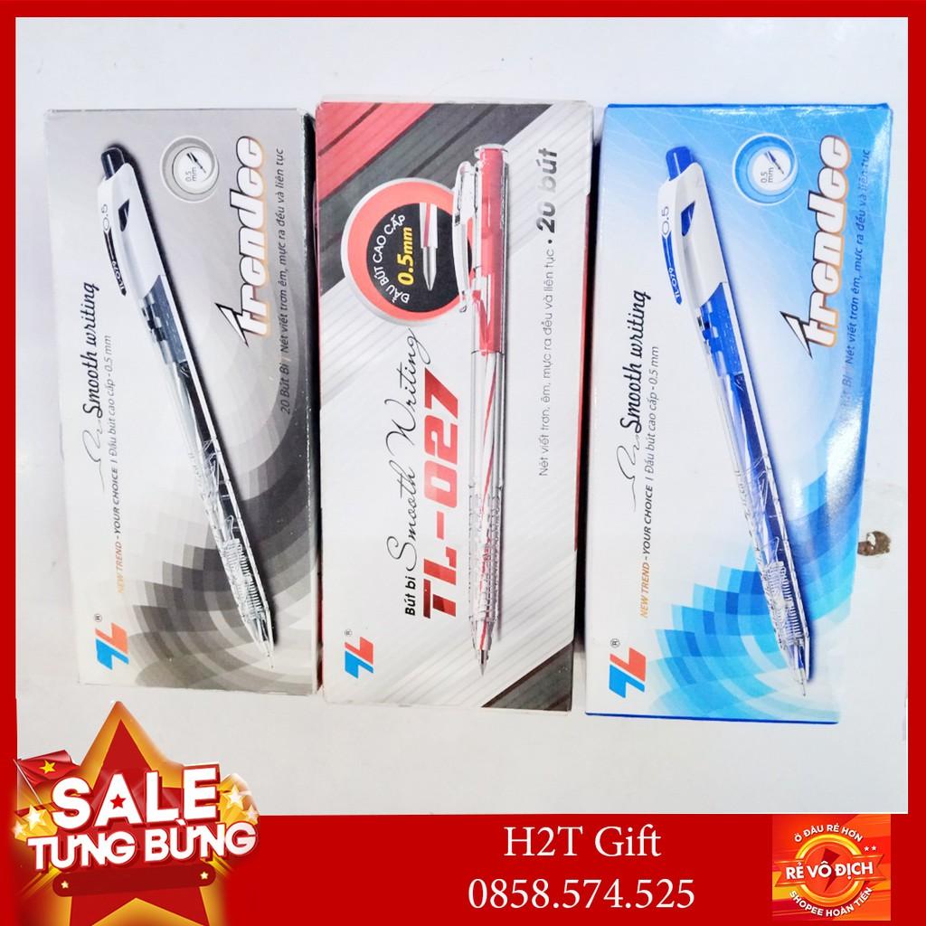 1 hộp bút bi TL - 079 - 027 (20 bút) - H2T HN