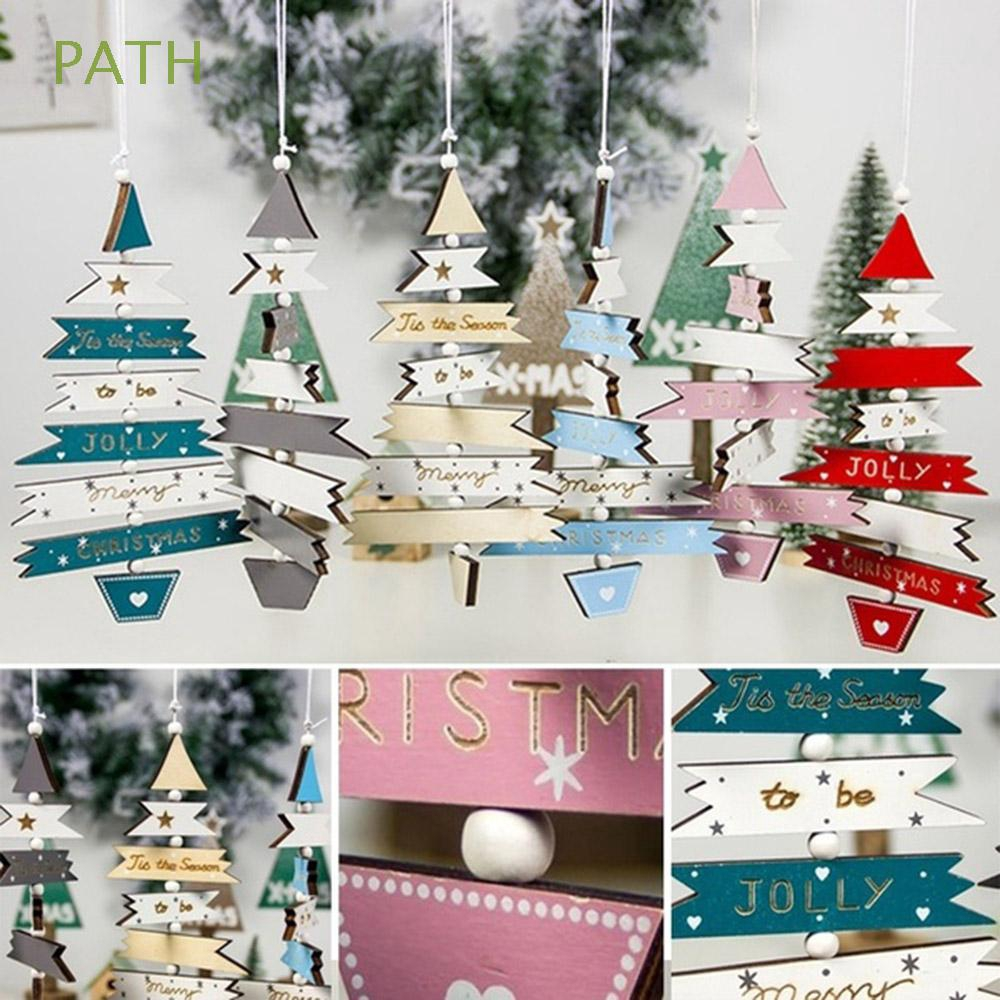 PATH 1PC DIY Crafts Creative Kids Gifts Home Decor Party Supplies Merry Christmas