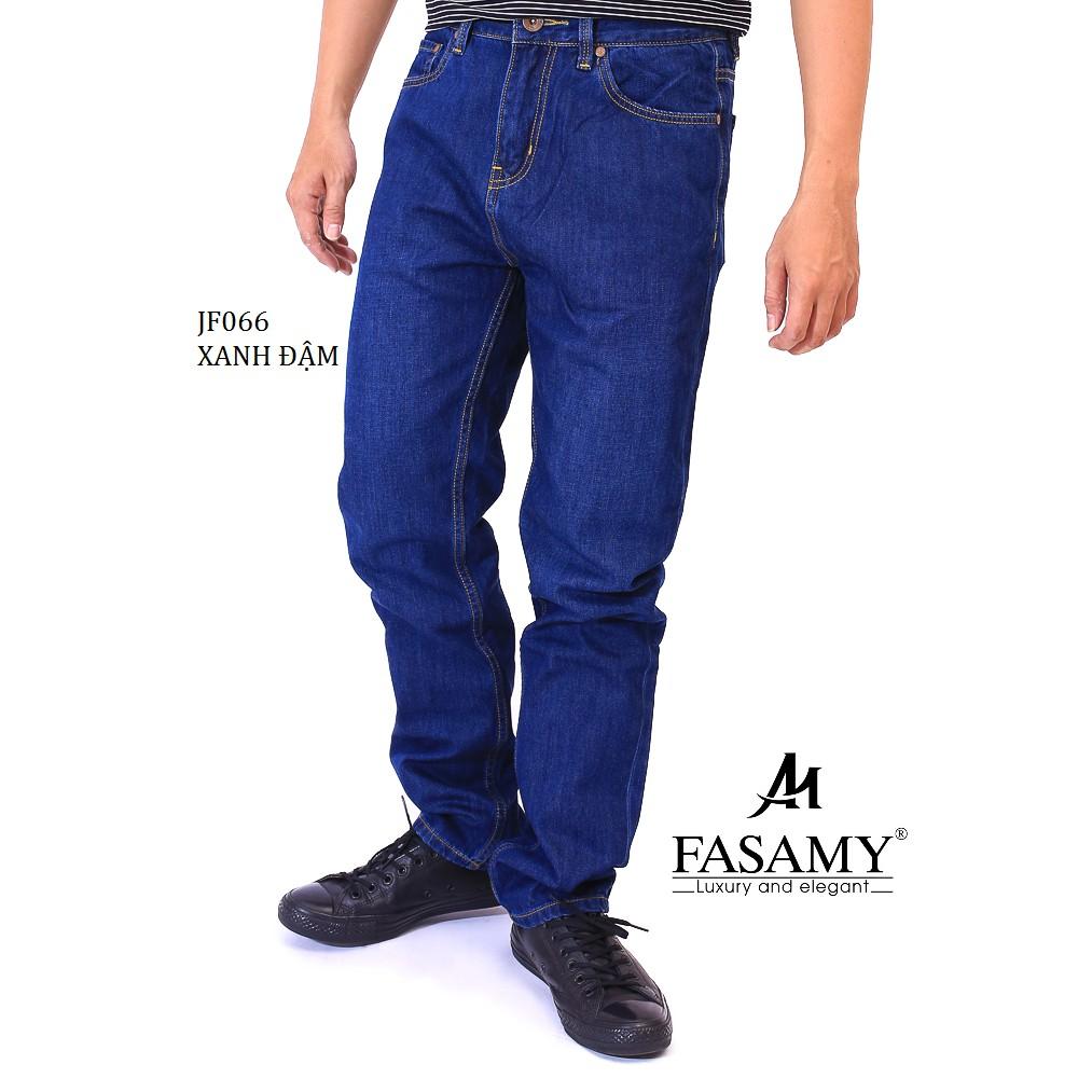 [Thời Trang Hè Fasamy]Quần Jeans Dài Nam JF066 Fasamy 2019