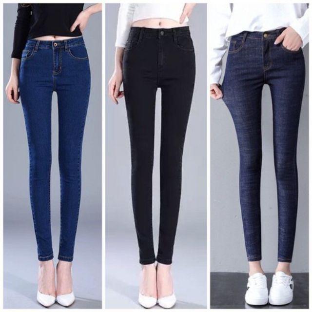 Combo quần jean, quần vải xả kho