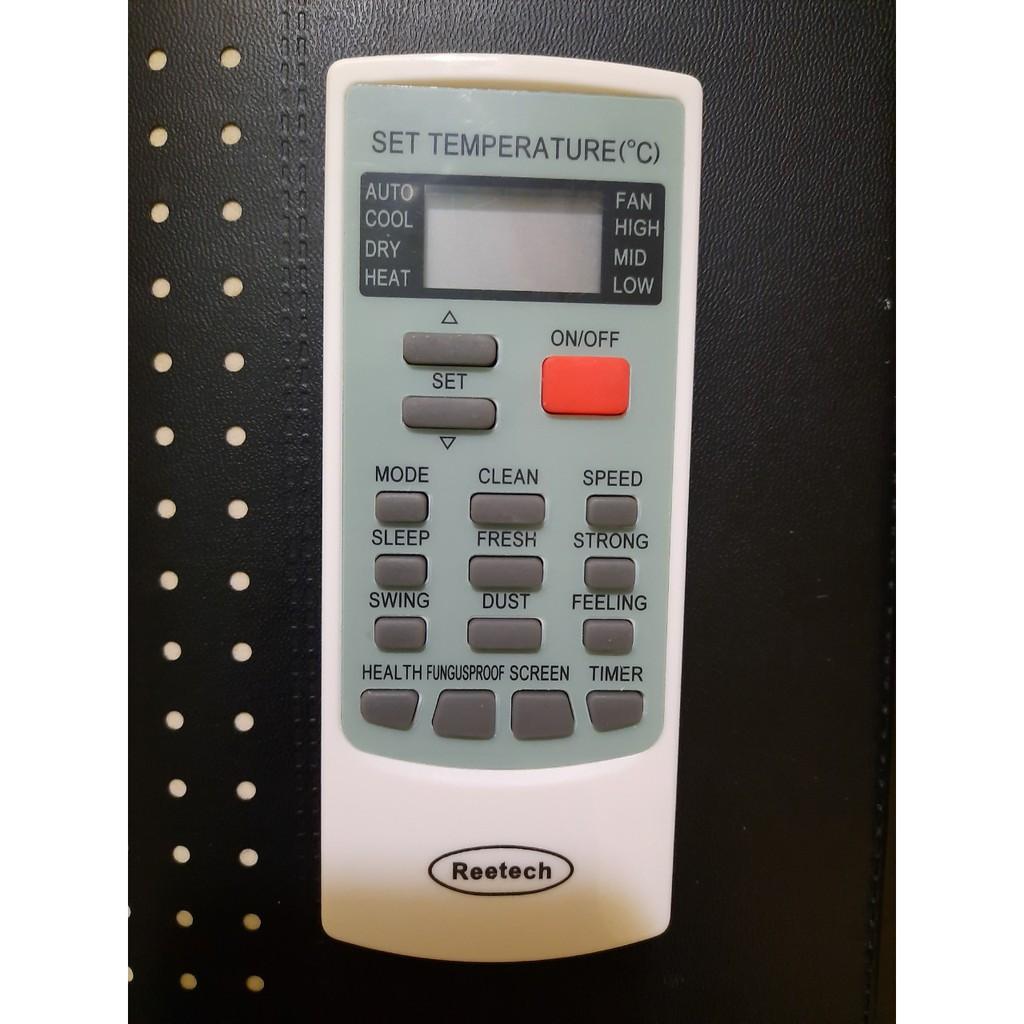 Điều khiển điều hòa Reetech - Reetech RT 1HP 1.5HP 2HP 2.5HP - Hàng tốt