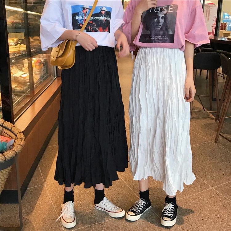 Chân Váy Xếp Ly Dáng Rộng Phong Cách Hàn Quốc 2020 Cho Nữ