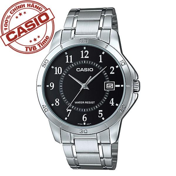 Đồng hồ nam dây thép không gỉ Casio Standard Anh Khuê MTP-V004D-1BUDF