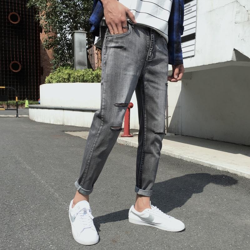 XXAshop.vn   pants men gentleman styletrouser campus Harajuku style this Thời Trang Nam ></noscript> Quần > Quần Jean