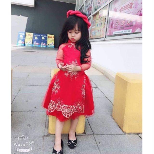 Áo dài cách tân cho bé