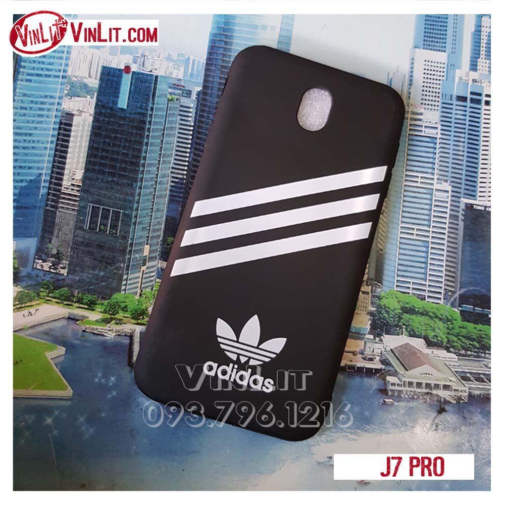 [ Samsung J7 Pro ] J7R1813033 Ốp lưng silicon Adidas hàng loại tốt