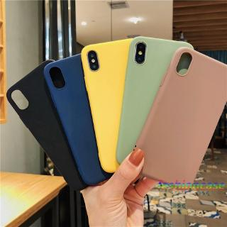 Soft Case Samsung A50S A30S A10 J2Prime A20 A30 J7Prime M10 A750 A7 2018 Silicone Simple Candy Color