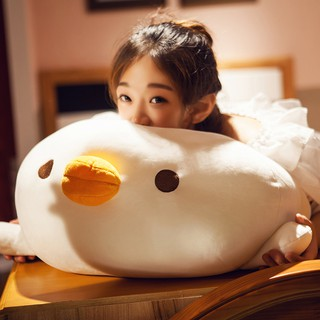 Super soft large puppet doll pillow long pillow hug sleeping doll funny expression cute girl Korea