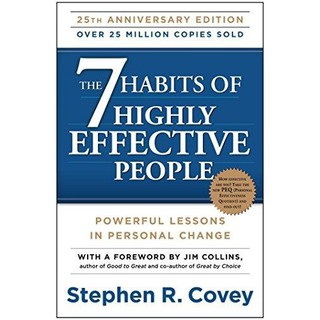 Sách Ngoại văn - Self Help: The 7 Habits Of Highly Effective People: Powerful Lessons In Personal Change