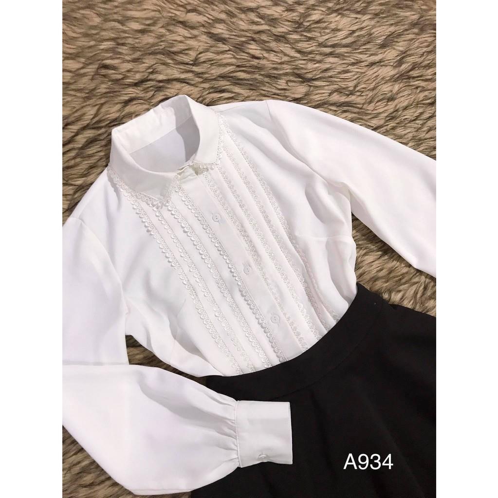 Sét đầm thiết kế cao cấp A934 - Chi_HP (Kèm Ảnh Thật Trải Sàn Do Shop Tự Chụp)