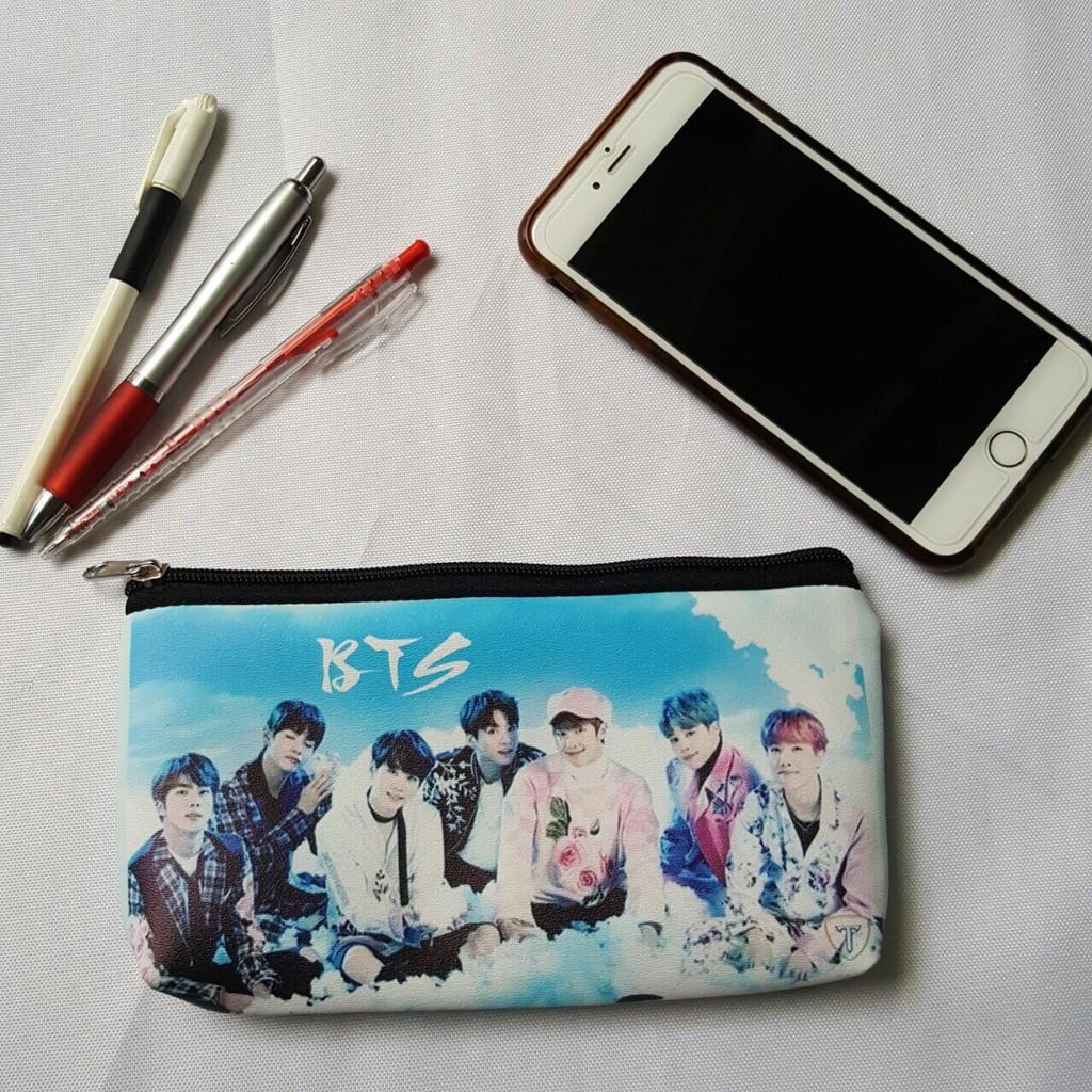 Ví đựng bóp viết tiền lẻ in hình BTS siêu cute 05441 - Ngố Store