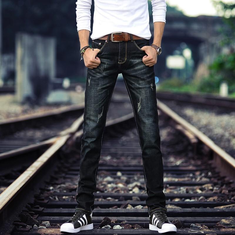 Quần Jeans nam ống suông trẻ trung năng động - MD2